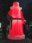 Дед Мороз DM-5.5 с подсветкой ночью