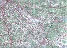 Карта района полётов