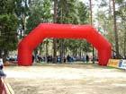 Надувная стартово-финишная арка