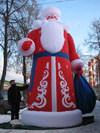Надувной Дед Мороз ДМ-5