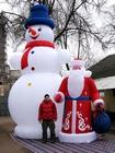 Большой Снеговик SM-6 и Дед Мороз DM-3